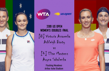 It will be an intriguing clash in the women's doubles final | Edit: Don Han/VAVEL USA