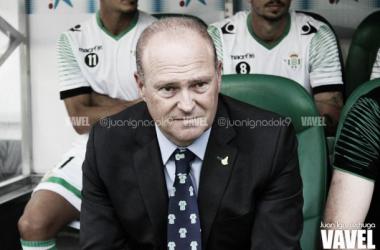 """Pepe Mel: """"Mañana saldrá un Betis reconocible"""""""