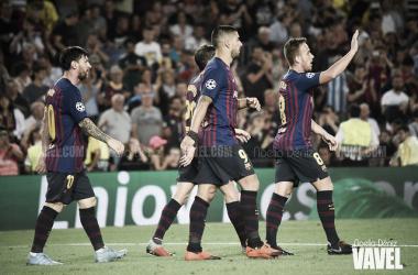 Imagen de archivo de los jugadores del Barça. FOTO: Noelia Déniz