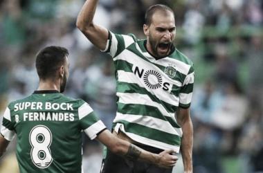 Liga NOS: Dupla Bruno e Bas dá vitória ao leão