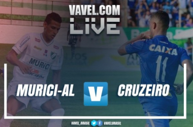 Resultado Murici x Cruzeiro pela terceira fase da Copa do Brasil 2017 (0-2)