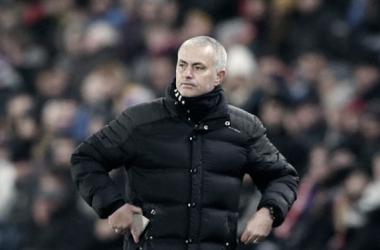 Mourinho está feliz por la victoria ante el Leicester | Foto: Manchester United