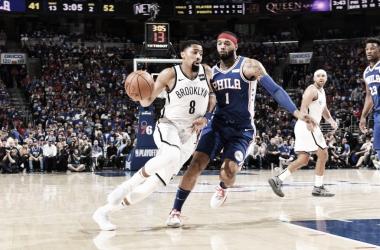 Brooklyn Nets derrota Philadelphia 76ers em primeiro jogo dos playoffs da NBA