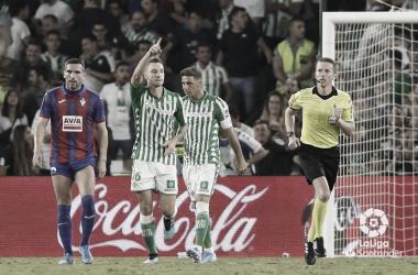 Loren celebrando su gol | Foto: LaLiga Santander