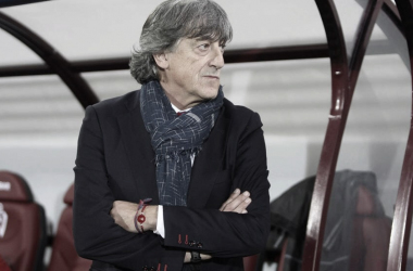 Enrique Martín instantes antes de comenzar un partido / FOTO: Mundo Deportivo