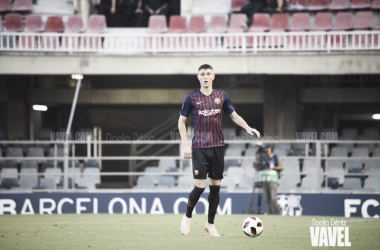 Jorge Cuenca en el partido disputado ante el Villarreal B   Foto de Noelia Déniz, VAVEL