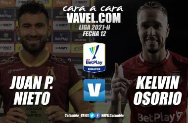 Cara a cara: Juan Pablo Nieto vs Kelvin Osorio
