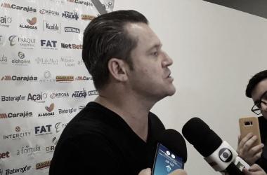 Argel exalta atuação do CSA, mas não se diz contente com resultado diante do Flamengo