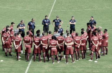 Técnico vem fazendo a diferença nos últimos jogos (Foto: Divulgação / Atlético - GO)