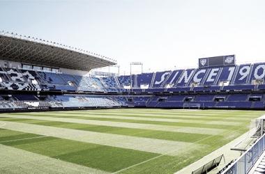 Estadio de La Rosaleda // Foto: Málaga CF