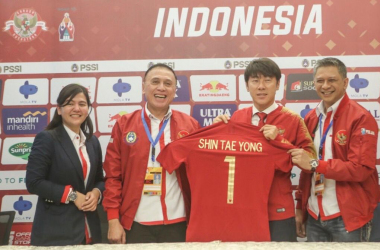 Shin Tae-yong Harapan Sepak bola Indonesia