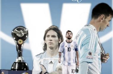 """El historial de la """"Pulga"""" en finales de Copa América"""