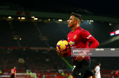 Alexis Sanchez is yet to replicate the form we saw at Arsenal since moving to Old Trafford. (Photo by Robbie Jay Barratt - AMA/Getty Images)
