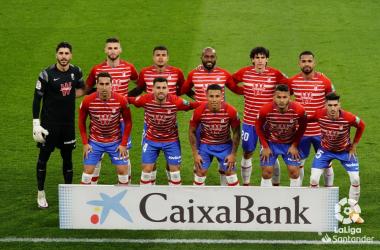 Granada CF - Celta de Vigo: puntuaciones del Granada, jornada 21 de LaLiga