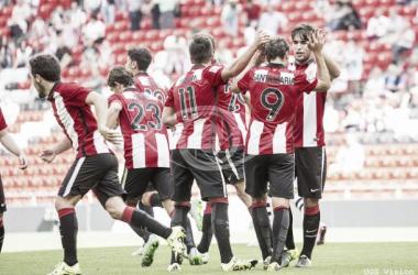 El Bilbao Athletic estrena el casillero ganando al Mallorca