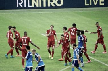 Il Bayern Monaco inizia con una cinquina la Bundesliga, Amburgo travolto