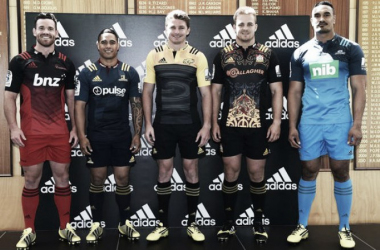 The New Zealand conference captains line up ahead of the new season (image via: radionz.co.nz)