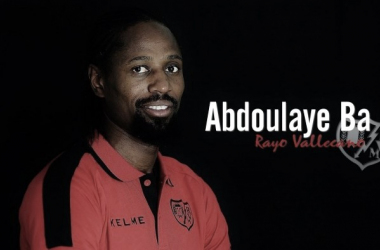 Abdoulaye Ba, tras fichar por el Rayo. / Fotografía: Rayo Vallecano.