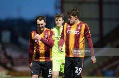 Bradford City 2-1 Morecambe: Vernam strike spurrs victory for Bantams