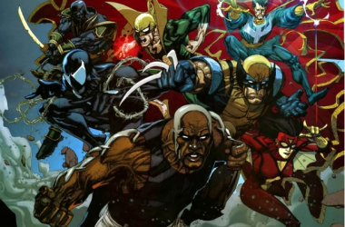 "Luke Cage's Renegade Avengers. image source "".comicbook.com"""