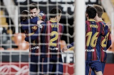 Análisis post: el Barça saca orgullo en Mestalla y sigue en la lucha por LaLiga