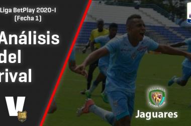 Rionegro Águilas, análisis del rival: Jaguares F.C.