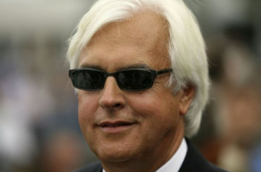 Trainer Bob Baffert finished first and second in the Sunland Derby (The Star-Ledger/John Munson)