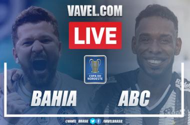 Gols e melhores momentos de Bahia 2 x 1 ABC pela Copa do Nordeste 2021