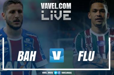 Resultado Bahia x Fluminense no Campeonato Brasileiro 2018 (2x0)