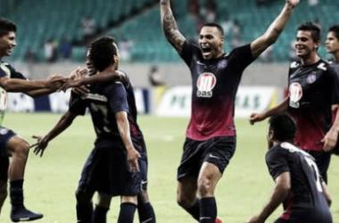 Bahia consegue virada sobre o América-MG e segue vivo na Copa do Brail