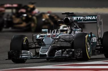 Lewis Hamilton hoje, no Bahrain (Foto: XPB Images)