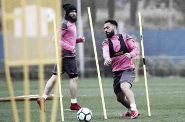 El Levante vuelve a los entrenamientos tras la victoria en Bilbao