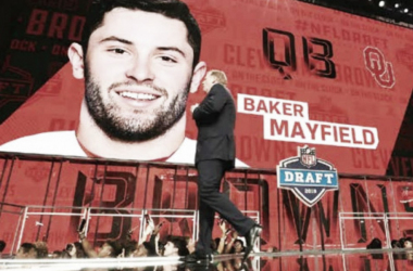 Baker Mayfield, 'pick' número1 del Draft 2018 (foto Nfl.com)