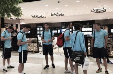 El Athletic ya está en tierras azerbaiyanas
