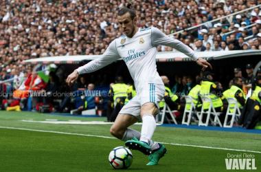 Gareth Bale durante el partido contra el Atlético de Madrid | Foto: VAVEL