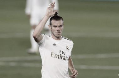 Bale con la camiseta del Real Madrid. Fuente: Real Madrid