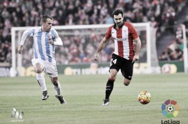 Mikel Balenziaga superó la centena de encuentros en Liga con el Athletic | Foto: LFP