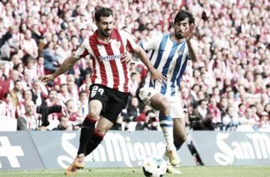 Imágenes de un pasado derbi en San Mamés | Imagen: Athletic Club de Bilbao