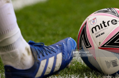 Mitre Delta Max: Official EFL Football 2020/21&nbsp;<div>Photo by Alex Dodd via Getty Images&nbsp;</div>
