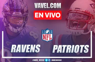 Resumen y Touchdowns del Baltimore Ravens 17-23 New England Patriots en Semana 10 NFL