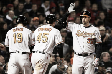 The Orioles keep pounding their way to the top of the AL East. (Photo Source:Michael Irvins/Boston Red Sox)