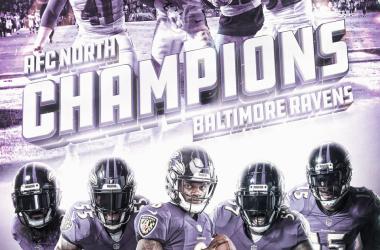 Baltimore Ravens, campeon de la Division Norte de la Conferencia Americana (foto NFL.com)