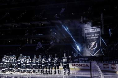 Tampa Bay volverá a protagonizar la primera jornada | Foto: NHL.com
