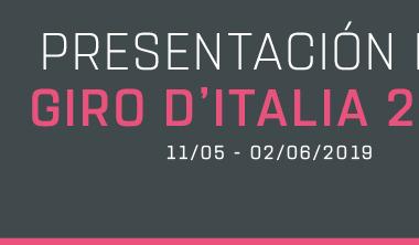 Presentación del Giro de Italia 2019. Foto: giroditalia.it