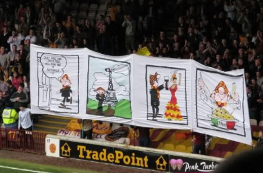 The prospect of Champions League football has Motherwell fans in their element