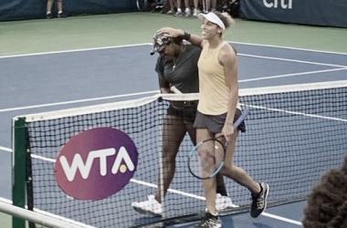 Estreante em torneios WTA, Hailey Baptiste derruba Madison Keys na primeira rodada em Washington