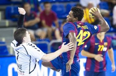 BM Aragón - FC Barcelona: la ASOBAL regresa a Zaragoza