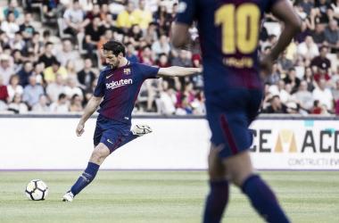Juliano Belleti en un partido con el Barça Legends. FOTO: fcbarcelona.es