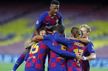 Messi trascina il Barça ai quarti: niente rimonta, Napoli ko 3-1