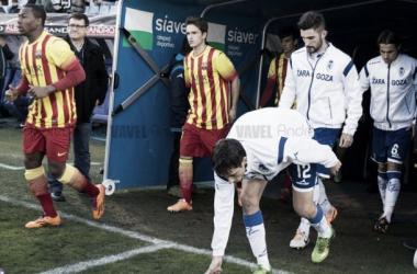 Zaragoza - Barça B: puntuaciones Barça B jornada 24 de la Liga Adelante